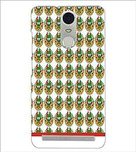 PrintDhaba Pattern D-1542 Back Case Cover for LENOVO K5 NOTE (Multi-Coloured)