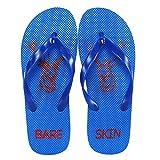 Bareskin Simple Blue Flip Flops