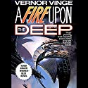 A Fire Upon the Deep Audiobook by Vernor Vinge Narrated by Peter Larkin