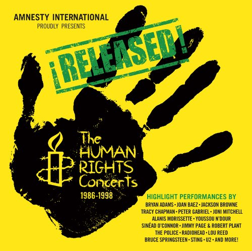 Released:The Human Rights Concerts 1986-1998, The Human Rights Concerts