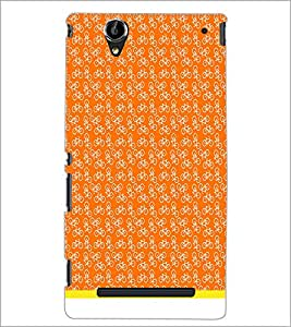 PrintDhaba Cycle Pattern D-1483 Back Case Cover for SONY XPERIA T2 ULTRA (Multi-Coloured)