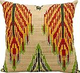 Kathy Ireland Worldwide V4081 Decorative Pillow By Nourison, Multicolor, 18