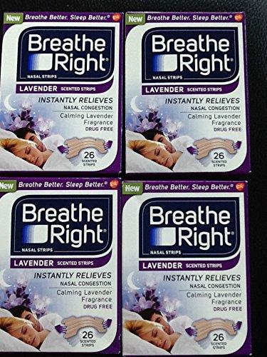 (104 Strips) NEW Breathe Right Nasal Strips :