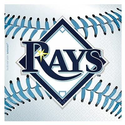 Tampa Bay Rays Baseball - Beverage Napkins タンパベイレイズ野球-飲料ナプキン♪ハロウィン♪クリスマス♪