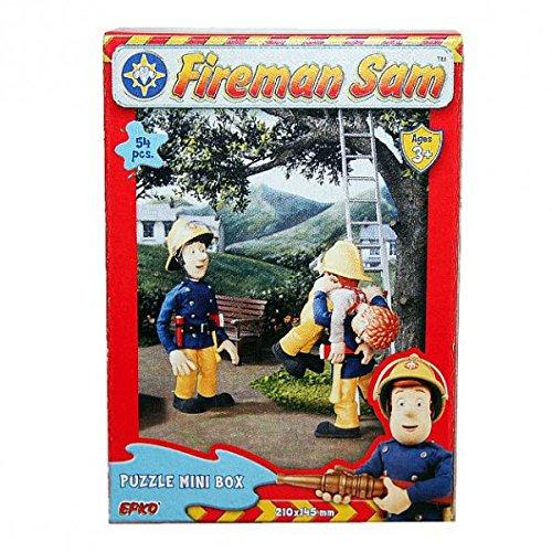 Feuerwehrmann Sam - Mini Puzzle 54 Teile - Motivauswahl, Typ:Puzzle F