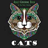 Adult Coloring Book: Cats