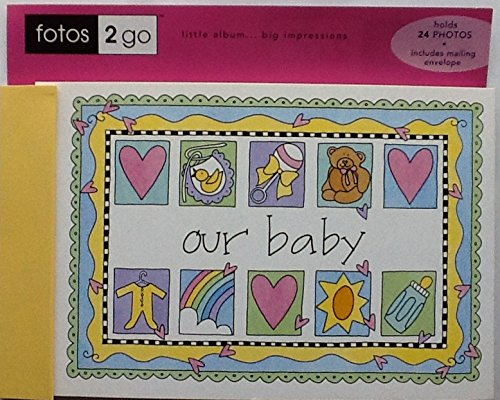 "Fotos 2 Go ""Our Baby"" Photo Brag Book - 1"