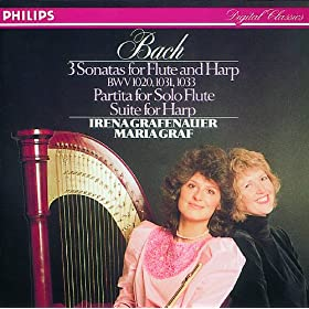 J.S. Bach: Suite in E for Lute, BWV 1006a/1000 - Arr. Harp - 2. Loure