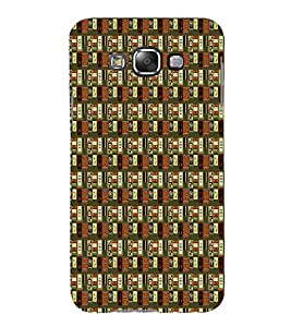 Abstract Painting 3D Hard Polycarbonate Designer Back Case Cover for Samsung Galaxy E7 :: Samsung Galaxy E7 E700F (2015)