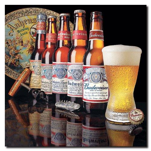 budweiser-5-g-n-rations-de-bouteilles-toile-18-x-18-pouces
