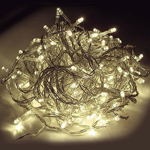 Weihnachtsbeleuchtung Für Aussen Led.Led Lichterkette 600 Lichter Gesamtlänge 70m Für Innen Außen Kabel
