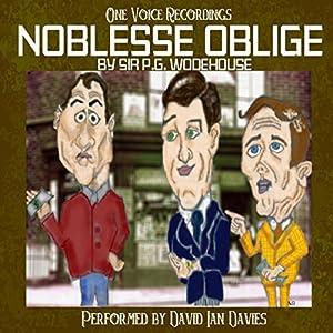 Noblesse Oblige Audiobook