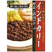 新宿中村屋 インドカリー野菜と鶏肉のキーマ 180g×5個