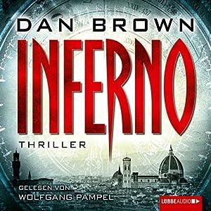 Inferno (       ungekürzt) von Dan Brown Gesprochen von: Wolfgang Pampel