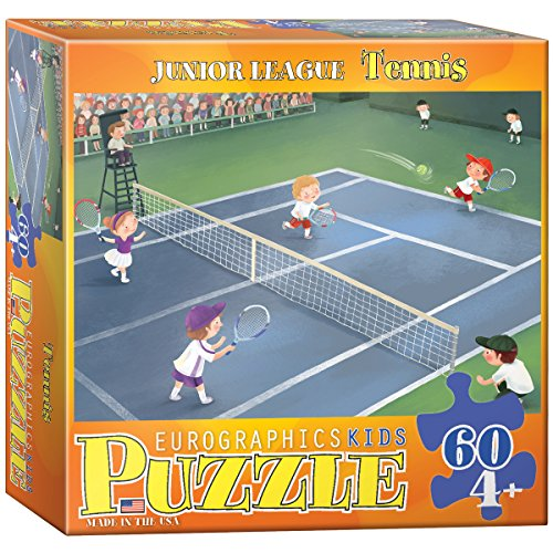 Tennis - Junior League Puzzle, 60-Piece - 1