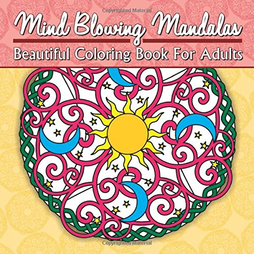 Mind blowing mandalas beautiful coloring book for adults Colouring books for adults ebay