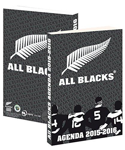 Agenda scolaire ALL BLACKS 2015 / 2016 – Collection officielle Nouvelle Zélande – Rentrée scolaire – Rugby