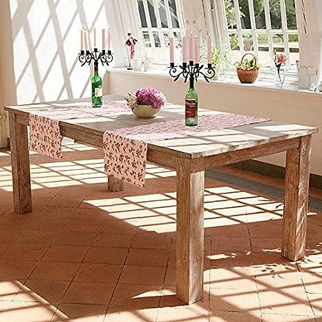 TEAK-Tisch Landhaus-Charme