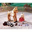 Calico Critters Willow At The Horse Show