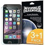 """iPhone 6 Protection écran 4.7 """" - Invisible Defender [3+1 Flim/HD Clarté] [Garantie à vie] High Definition (HD) Clarté Film Screen Protector Films de protection d'écran pour Apple iPhone 6 4.7 Inch"""