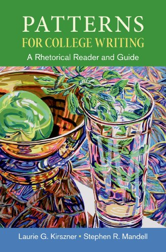 patterns for college writing a rhetorical reader and guide 13th edition bedford st. martins