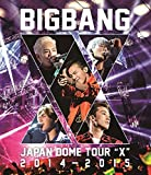 "BIGBANGJAPAN DOME TOUR 2014~2015 ""X"" (Blu-ray2枚組)"