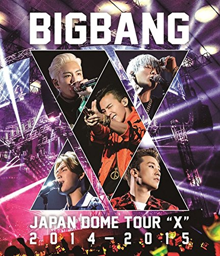 "BIGBANG JAPAN DOME TOUR 2014~2015 ""X"" (Blu-ray2枚組)"
