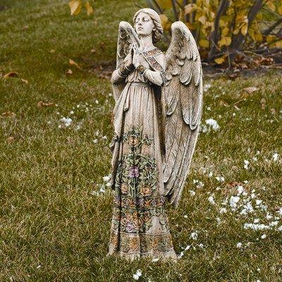 Resin angel garden statues - Angel statue for garden ...