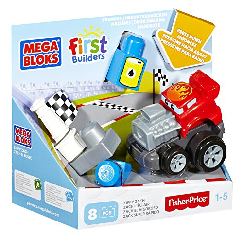 Mega Bloks First Builders Zippy Zach Building Kit - 1
