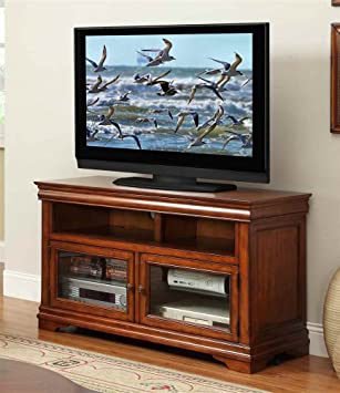 48 in. TV Cabinet in Classic Cherry Finish