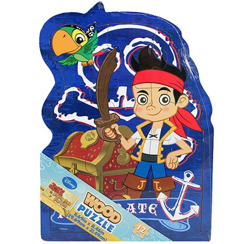 Disney Jake and the Neverland Pirates Shaped Wood Puzzle - Assorted Styles - 1