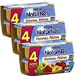 B�b� Nestl� Naturnes Pommes P�ches- C...