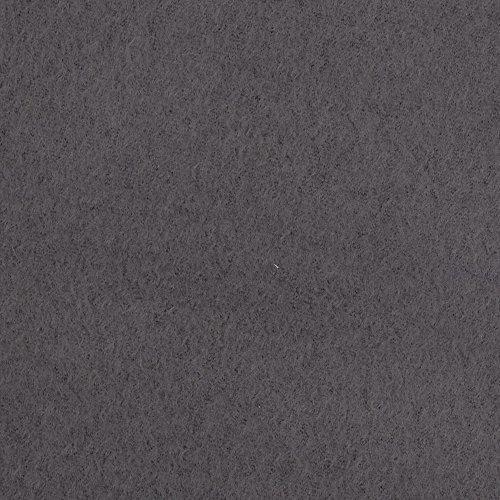 Warm Winter Fleece Solid Charcoal Grey Fabric By The Yard