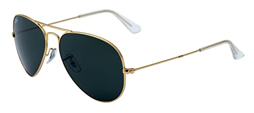 aviator ray ban gold  Ray-Ban Aviator Sunglasses (Gold) (RY554GL58): Amazon.in: Clothing ...