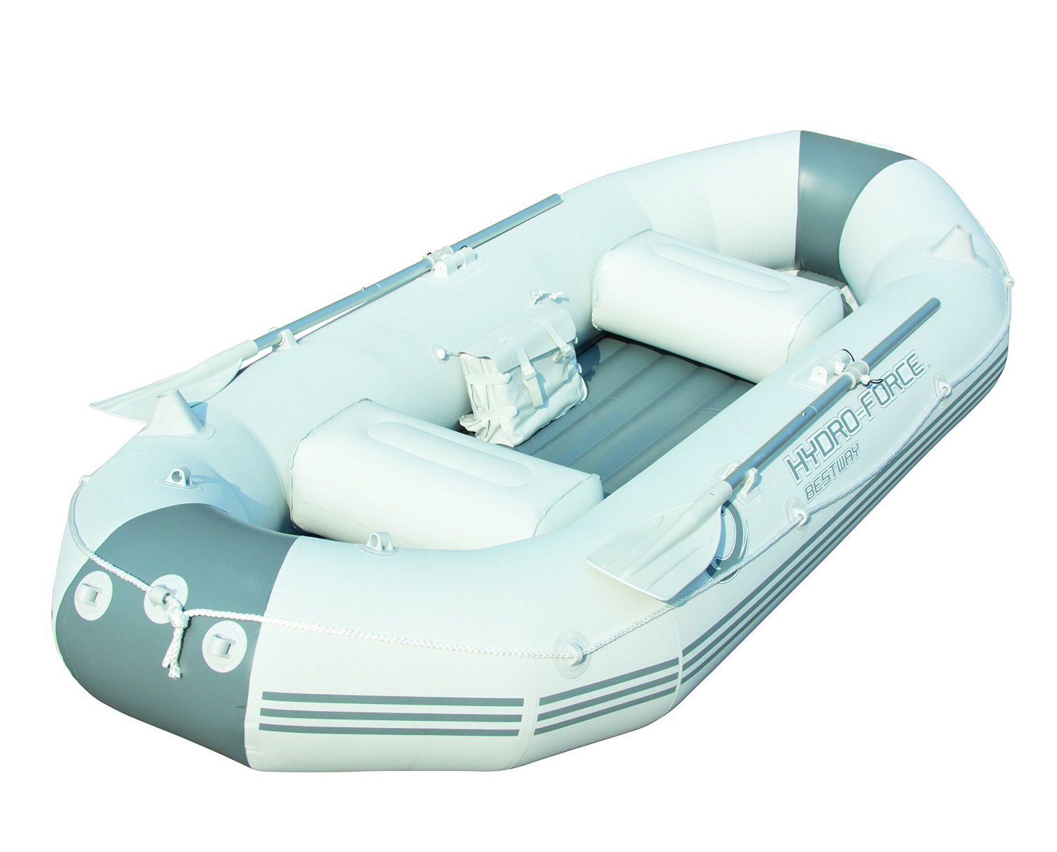 Bestway Boot Set Hydro Force Marine, weiß/ blau, 270 x 142 x 46 cm, 65044