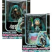 VOCALOID 初音ミク オルゴールフィギュア 初音ミク/はちゅねみく全2種セット