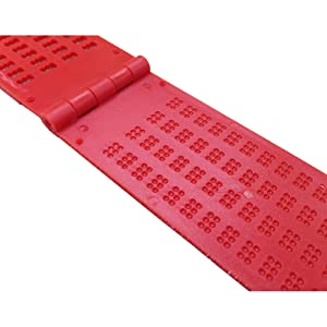 4 Lines 28 Cells Braille Writing Slate and Stylus (Red)