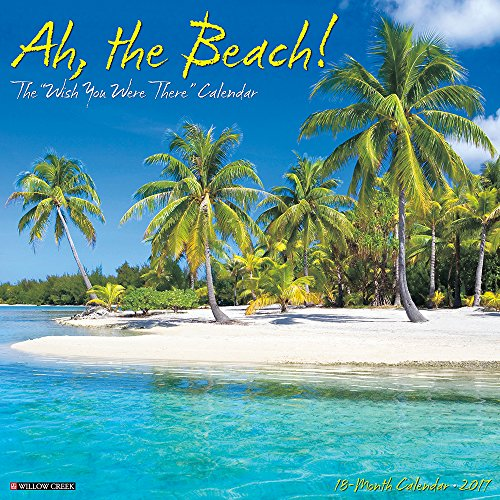 Ah The Beach! 2017 Wall Calendar