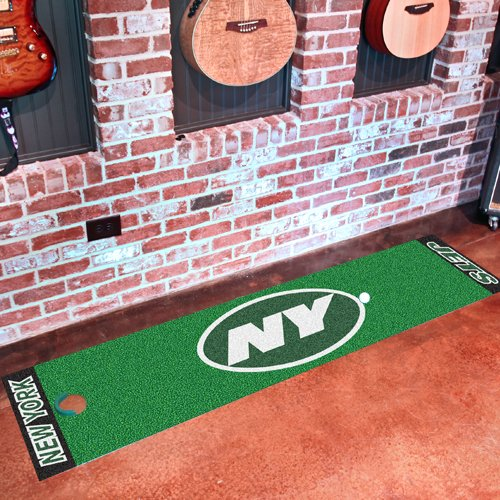 "NFL New York Jets Golf Practice Putting Green Rug Runner 18"" x 72"" at Amazon.com"