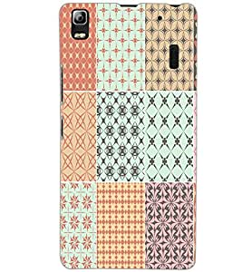 LENOVO A7000 PATTERN Back Cover by PRINTSWAG