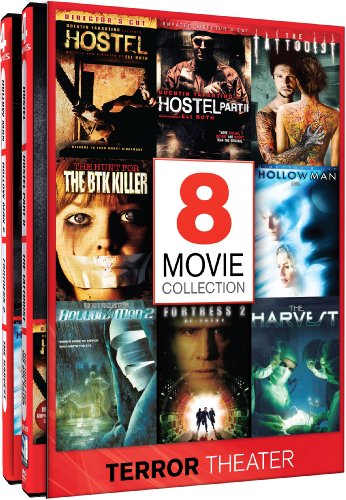Terror Theater - 8 Frightening Films: Hostel / Hostel 2 / Hollow Man / Hollow Man 2 / The Tattooist / The Hunt For The BTK Killer / Fortress 2 / The Harvest (Hostel Ii compare prices)