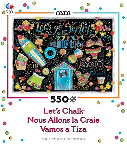 Ceaco Let's Chalk - Surfing Puzzle