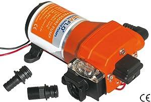 12 Volt automatische Druckwasserpumpe 17 Liter  Überprüfung und Beschreibung