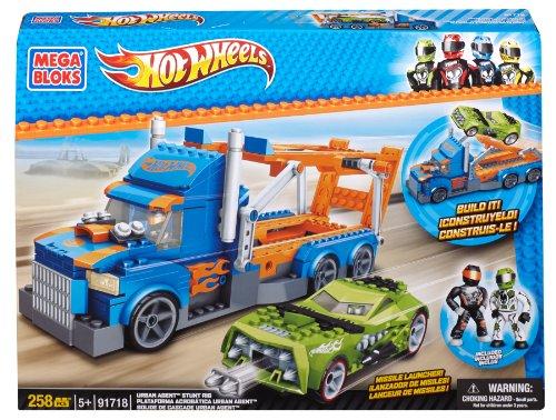 Mega Bloks Hot Wheels Urban Agent Stunt Rig