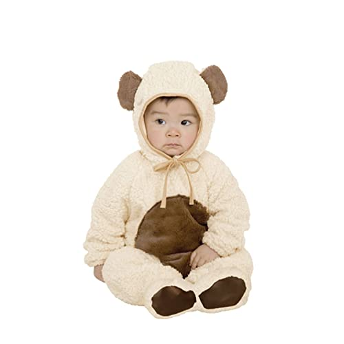 Famous Oatmeal Bear Costume in Microfiber