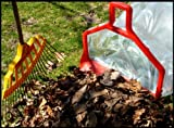 Leaf Lasso: Lawn Care, Garden, Basement Garage Clean up: Holds bags open no hands needed