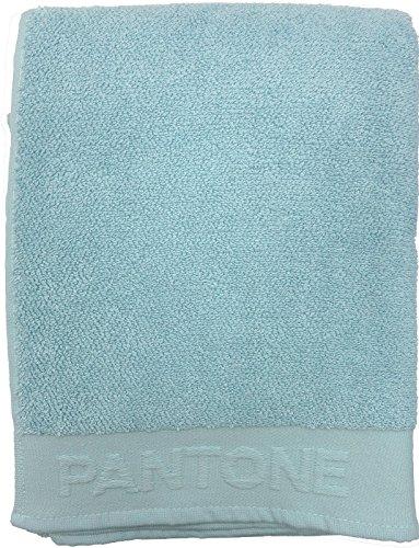 Telo bagno spugna Pantone cm.100x170 Bassetti cotone 100% AZZURRO