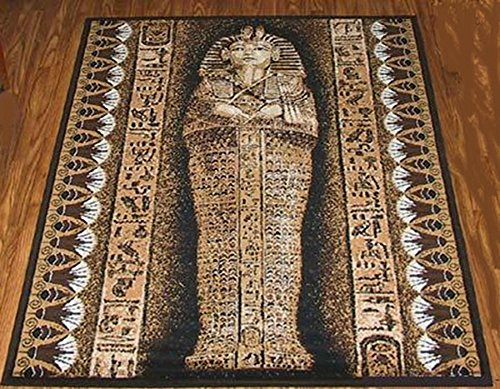 King Tut Area Rug 5 X 7