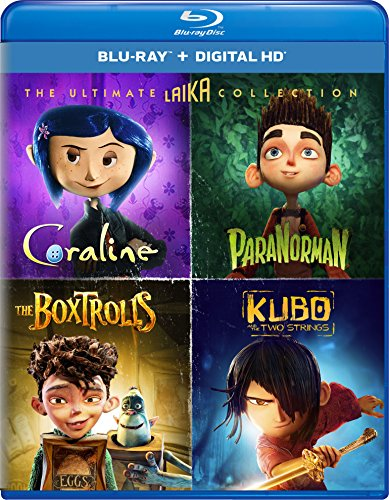 Blu-ray : The Ultimate Laika Collection (Boxed Set, Ultraviolet Digital Copy, Digital Copy, 4 Disc)