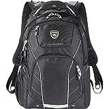 """High Sierra Elite Fly-By TSA Friendly Black 17"""" Laptop / MacBook Pro Backpack"""